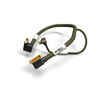 CMD9-394 INCHES CONNECTED TO CAT5 CABLE |  Micro-D Cable Assembly SPL
